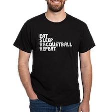Eat Sleep Racquetball Repeat T-Shirt