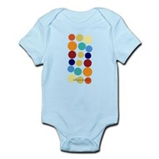 Custom Bright Party Dots Infant Bodysuit