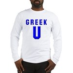 Greek U Long Sleeve T-Shirt