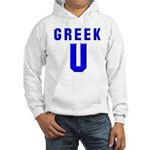 Greek U Hooded Sweatshirt