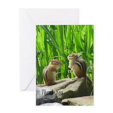 Chipmunks Greeting Cards