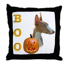 Ibizan Boo Throw Pillow