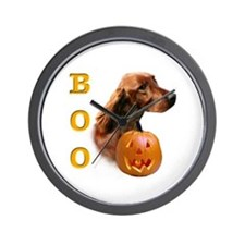 Irish Setter Boo Wall Clock