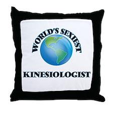 World's Sexiest Kinesiologist Throw Pillow