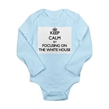Keep Calm by focusing on The White House Body Suit