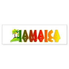 Jamaica Bumper Bumper Sticker