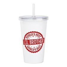 World's Best Lil Broth Acrylic Double-wall Tumbler