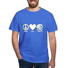 Peace Love & Snakes Men's T-Shirt
