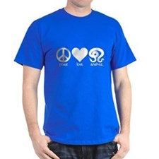 Peace Love And Snakes Men's T-Shirt