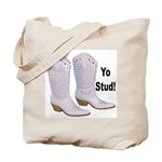 Yo Stud Tote Bag