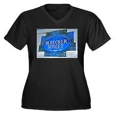 Bleeker Street : NYC Subway Plus Size T-Shirt