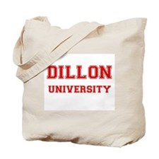 DILLON UNIVERSITY Tote Bag