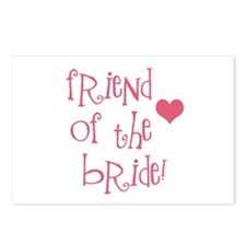 Friend of the Bride Postcards (Package of 8)