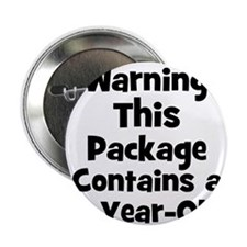 "WARNING~This package contains 2.25"" Button (10 pac"