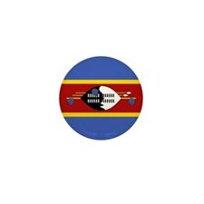 Swaziland Flag Mini Button