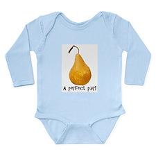 Cute Pairing Long Sleeve Infant Bodysuit