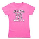 Waltz Dance Designs Girl's Tee