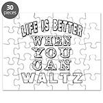 Waltz Dance Designs Puzzle