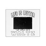 Waltz Dance Designs Picture Frame
