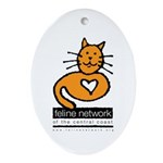 Feline Network Logo - Keepsake (Oval)