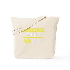 Cute Abbigail Tote Bag