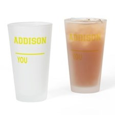 Cute Addison Drinking Glass