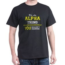 Cute Alpha T-Shirt