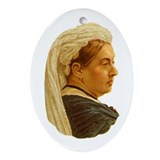 """Queen Victoria"" Oval Ornament"