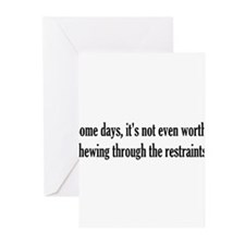 Some Days Greeting Cards (Pk of 10)