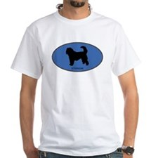 Otterhound (oval-blue) Shirt