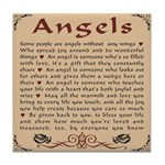 Got Angels? Tile Coaster