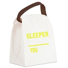 Sleepers Canvas Lunch Bag