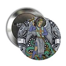 Saint Michael Button
