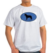 Australian Cattle Dog (oval-b T-Shirt