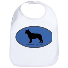 Australian Cattle Dog (oval-b Bib