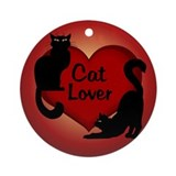 Cat Lover Ornament Keepsake, Cat Lover Art Gifts