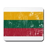 Vintage Lithuania Mousepad