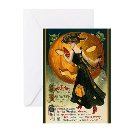 Witches' Dance Greeting Cards (Pk of 10)