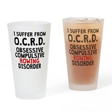 Obsessive Compulsive Rowing Disorder Drinking Glas