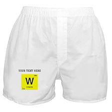 Custom Tungsten Boxer Shorts