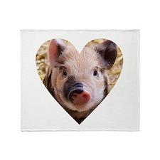 Unique Pig Throw Blanket