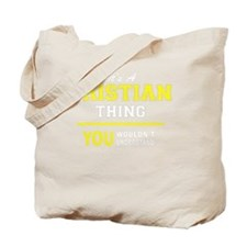 Cute Cristian Tote Bag