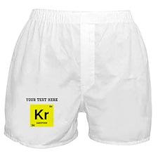 Custom Krypton Boxer Shorts