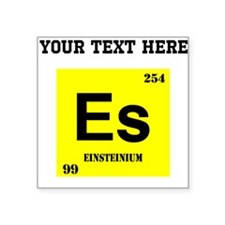 Custom Einsteinium Sticker