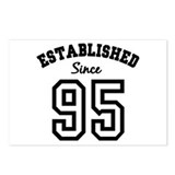 Established Since 1995 Postcards (Package of 8)