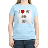 I Love My Gay Son Women's Pink T-Shirt