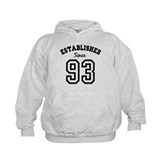 Established Since 1993 Hoodie