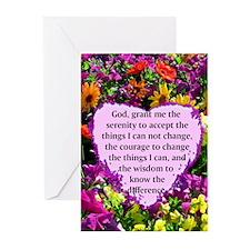 SERENITY PRAYER Greeting Cards (Pk of 20)