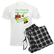 Ugly Shirt Ugly Underwere Pajamas