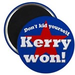 John Kerry Won Magnet